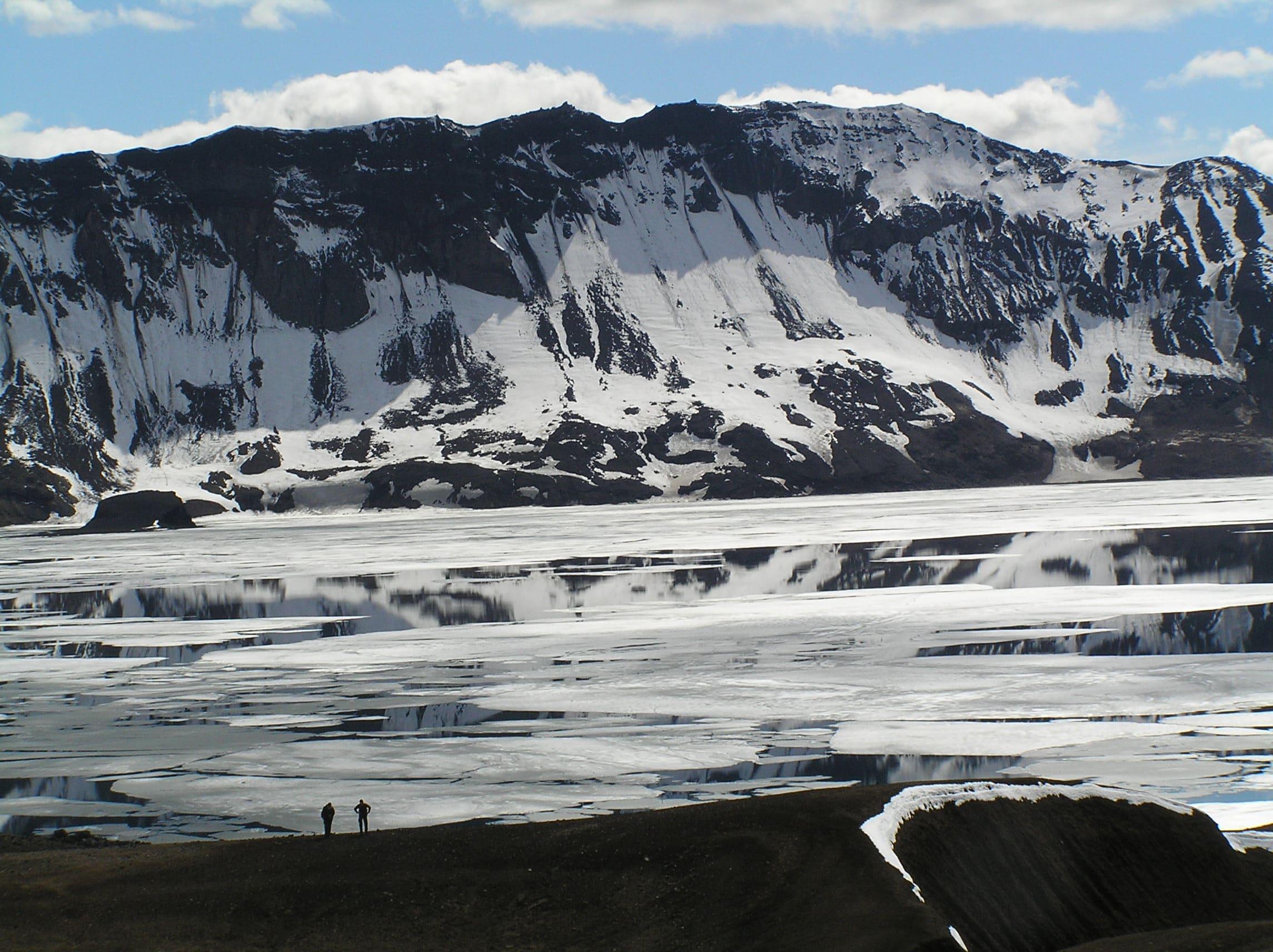 Askja caldera and Askja lake