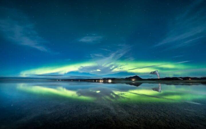Northern Lights Tour from Lake mývatn