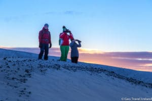 Hverfjall winter hike with Geo Travel-3