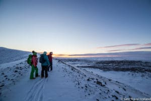Hverfjall winter hike with Geo Travel-7