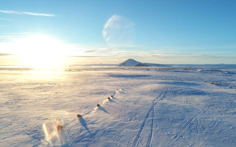 Myvatn snowmobile tour