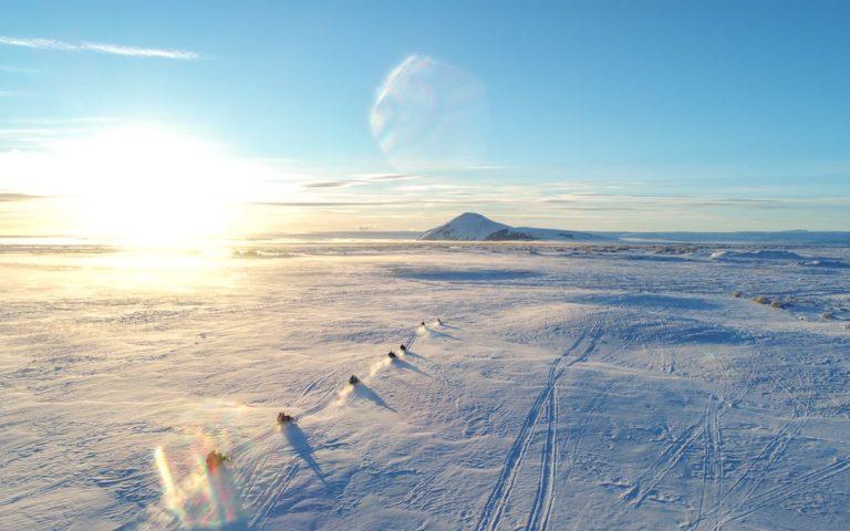 Myvatn snowmobile tour