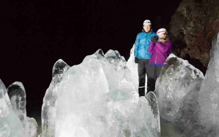 Ice Cave Lofthellir Day tour from lake Mývatn