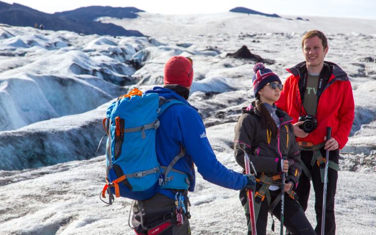 Glacier Hike at Kverkfjöll